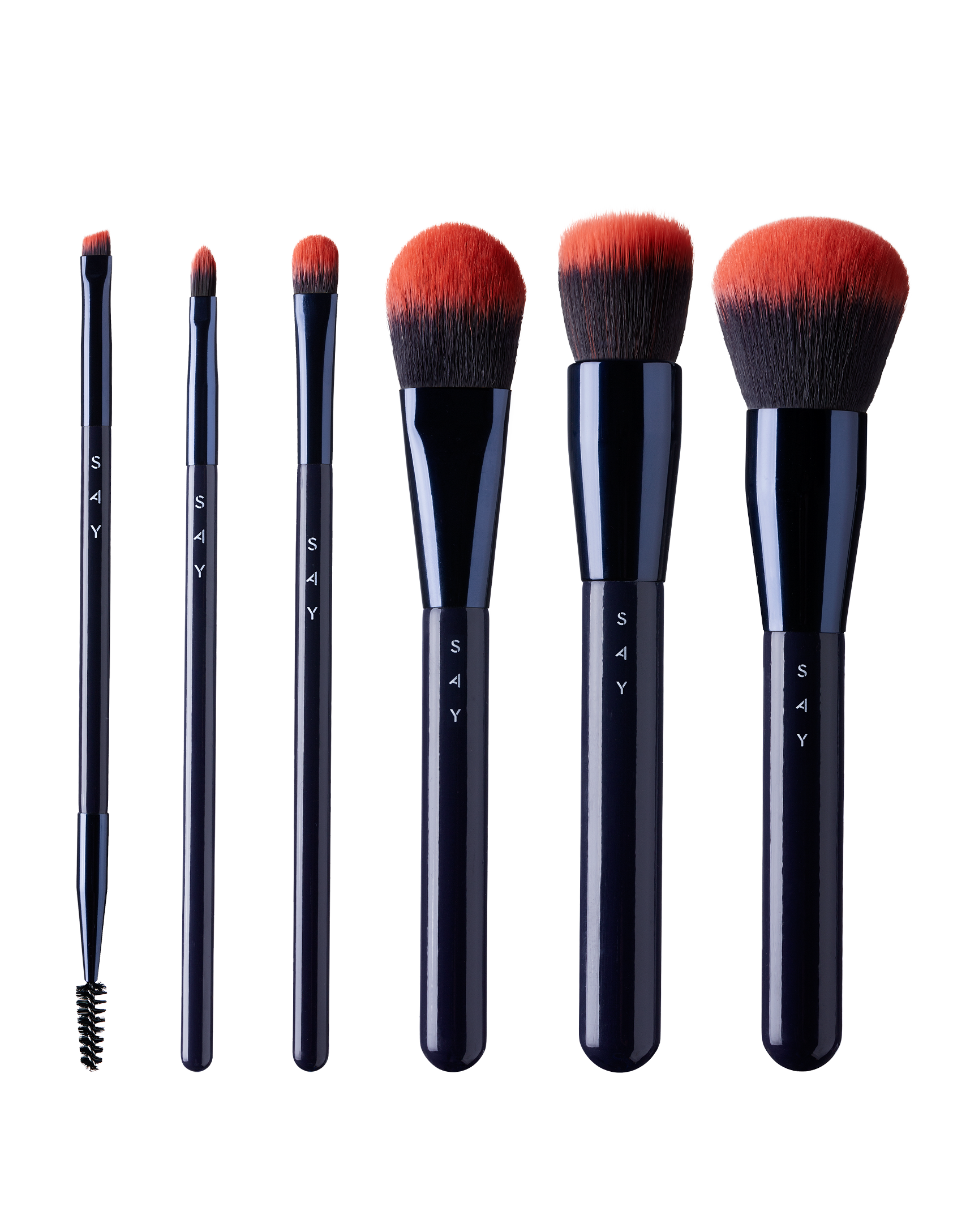 BASIC COLLECTION - 6 basic makeup brushes